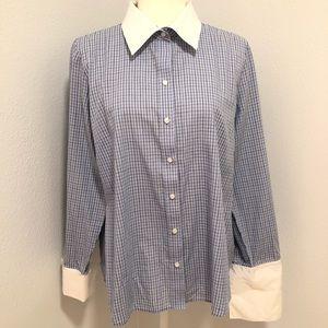 Izod shirt Top Xlarge ladies button down 3/$15